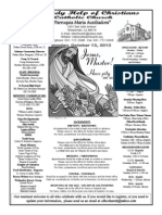 Parish Bulletin for October 12, 2013