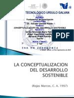 Desarrollo Sostenible (Presentacion Ppt)