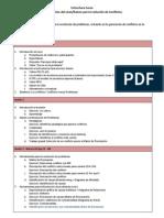 Estructura Curso LeanKaizen para la Resolución de Conflictos