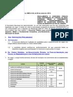 Edital Regulam Medicos Psicologos Farmac e Outros