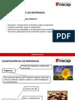UNIDAD TEMÁTICA 1 CLASIFICACIÓN DE LOS MATERIALES