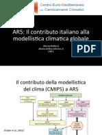 Bellucci - Il Contributo Italiano Alla Modellistica Climatica