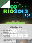Icom Rio 2013 Report_AG
