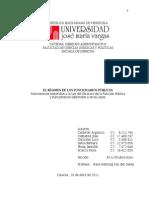 Trabajo de Derecho Administrativo II Ley Del Estatuto de La Funcion Publica