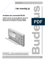 Instructiuni de Montaj Si Service RC30