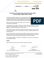 IS0166 Procedimiento Para Obtener Datos Del Historial Del Motor (EHM)