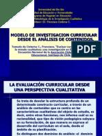 Modelo de Investigacion Curricular