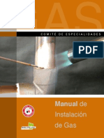 Manual de Instalación de Gas