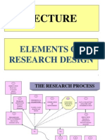 Lecture Research Design