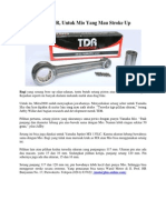 Setang Piston TDR + Upgrade Tiger