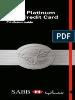 Www.sabb.Com 1 PA 1 083Q9FJ08A002FBP5S00000000 Content SABB en Personal Attachments Platinum-privileges-booklet-Islamic-Eng