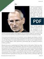 El legado de Steve Jobs | Mario Balcázar | FOROALFA