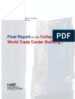Final Report on the Collpase of World Trade center Building 7 -- NCSTAR 1A