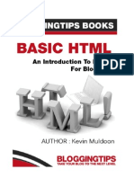 Basic HTML an Introduction to HTML for Bloggers