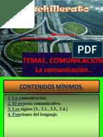 TEMA1 COMUNICACIÓN