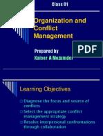 Conflict Management - 1st Lecture