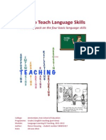 How to Teach Language Skills - A Teaching Pack on the Four Basic Language Skills