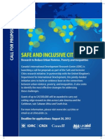 Safe and Inclusive Cities