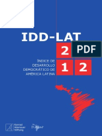 Índice de Desarrollo Democrático de América Latina 2012
