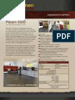 PARAM 5500 - Self Leveling Concrete