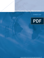 Global Private Equity Barometer Summer 2007 - Coller Capital
