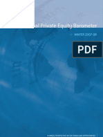 Global Private Equity Barometer Winter 2007-2008 - Coller Capital