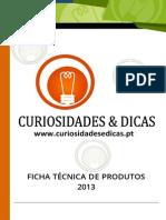 Ficha Técnica de Produtos
