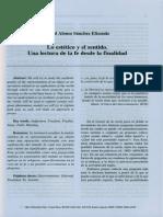 Lo estetico y el sentido. Una lectura de la fe desde la finalidad.pdf