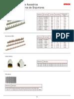 Barramentos (Pente Acessórios para quadros e centro de disjuntores, QD)_ steck