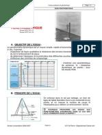 TP Penetrometrique Laboratoire Materiaux