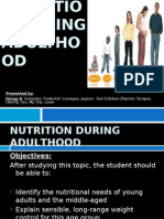 Young and Middle Adulthood Nutrition Report (1)