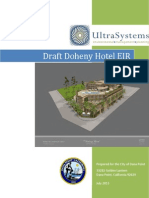 Doheny Hotel Environmental Impact Report