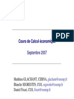 Coursde Calculéconomique