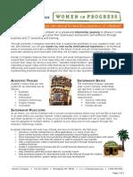 Wip Internship Program Overview