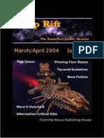 Warp Rift Magazine #1