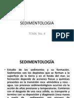 Tema 4 - Sedimentología