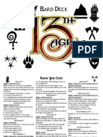 13th Age Bard Deck 1.2