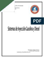 Sistema de Inyección Electrónica a Gasolina y Diesel.