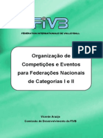 FIVB Organisation of Evemts for NF 1 and 2 Por