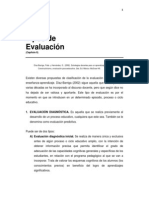 Tipos de Evaluacion Frida Diaz