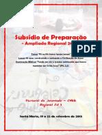Subsídio de Preparação ARPJ 2013 - FINAL
