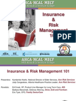 1-A-Insurance and Risk Management 101