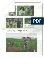 Te Waha Nui, 'Living Legends', 4 October 2013, p. 10, photographs by Cathryn Kempe
