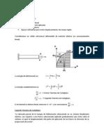 Teorema de Catigliano Resumen