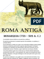 Aula- Roma Antiga