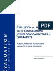 Le rapport 2009 de l'OFDT sur la consommation de cannabis