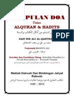DO'A Hisnul Muslim