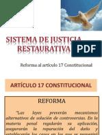 MAGDO. JOSE ALFREDO JIMENEZ Exposicion Justicia Restaurativa 2