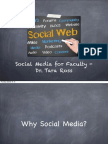 Social Media for Faculty - Beyond the Classroom
