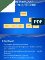 Procesos de Soldadura Utilizados en Oleoductos